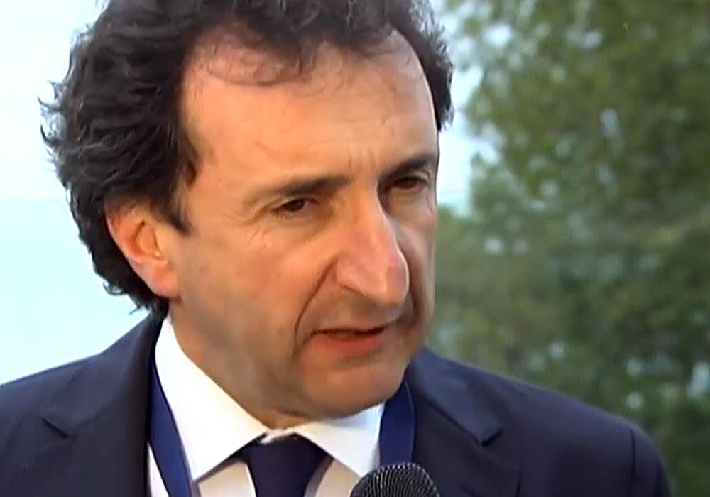 Roberto Brazzale in occasione del Dairy Forum Clal-Ismea
