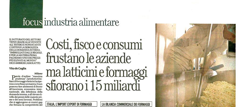 130701-Affari&Finanza - Brazzale S.p.A.
