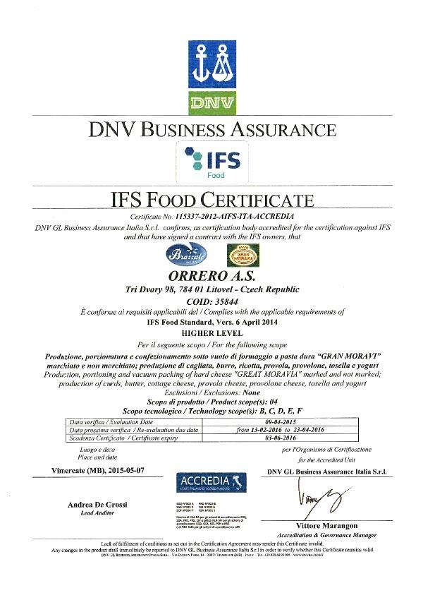 certificato-brazzale-IFS_05_2015-scad-03-06-16