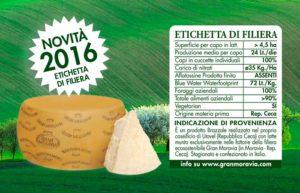 Gran Moravia - Etichetta totale di filiera